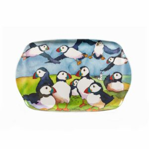 Playful Puffins Handle Tray (M2)