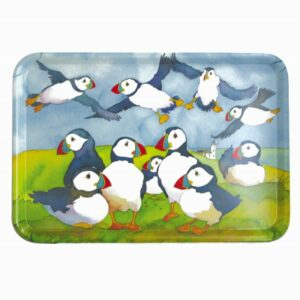 Playful Puffins Large Tray (M7)