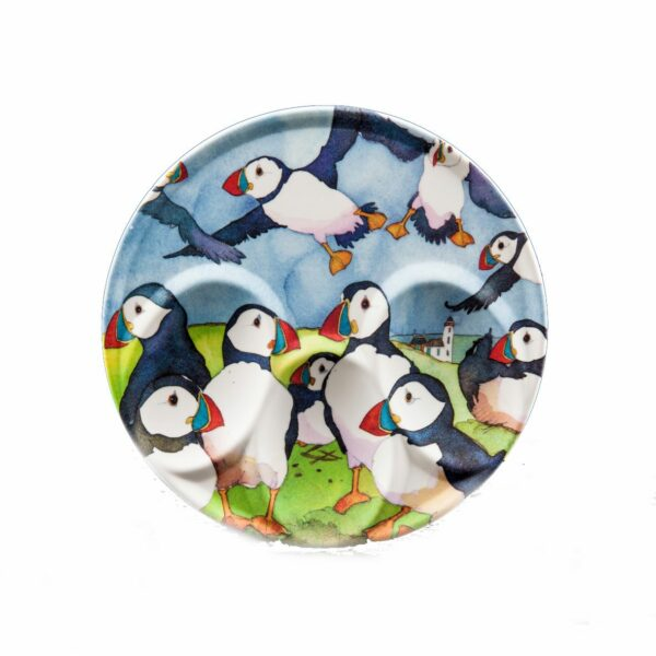Playful Puffins Spoon Rest (M11)