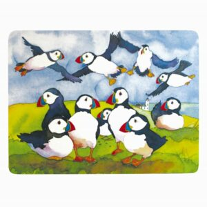 Playful Puffins Placemats Box of 4 (M46)