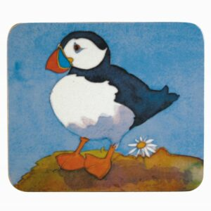 Playful Puffins Coasters Box of 4 (M47)