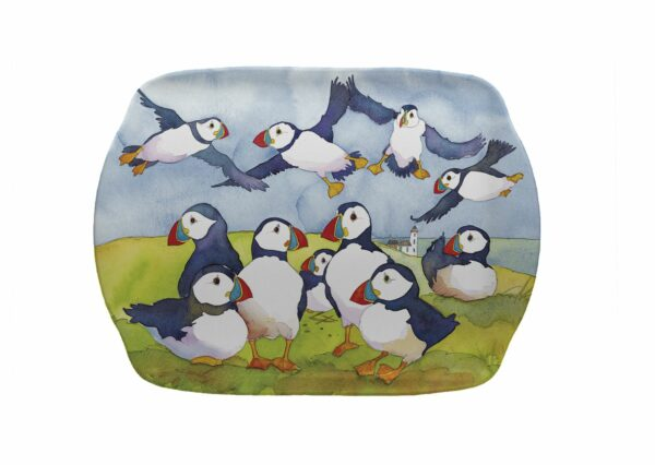 Playful Puffins Scatter Dish (M52)