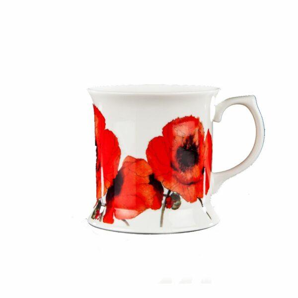 Red Poppies Tankard Mug (M34)