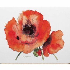 Red Poppies Kitchen Board (M41)