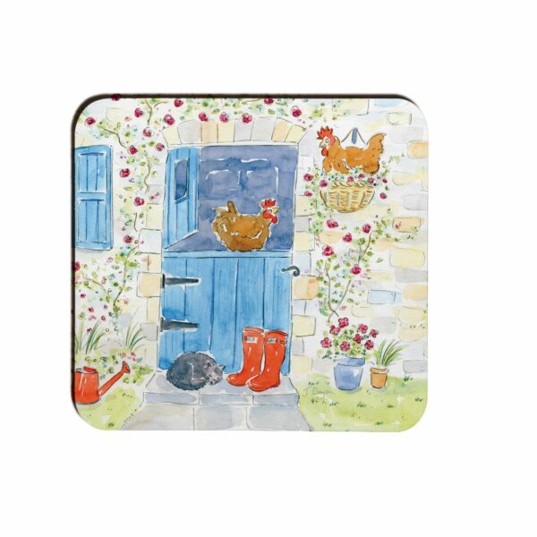 Hanging Out Moulded Coasters Box 4 (M55)