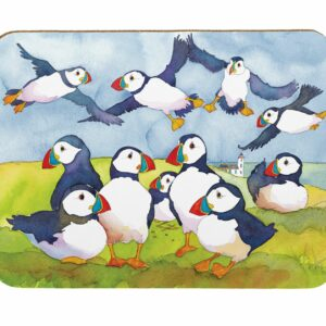 Playful Puffins Pastry Board (M43)