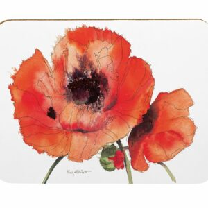 Red Poppies Pastry Board (M43)