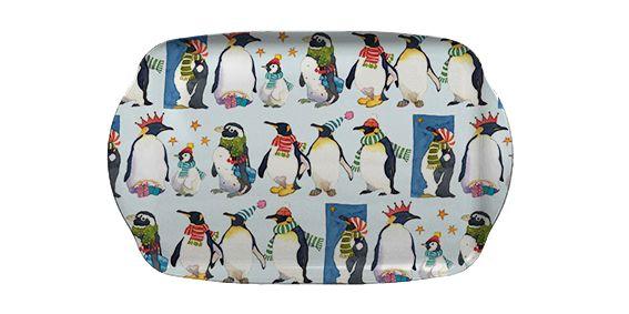 Winter Penguins Medium Tray (M50)