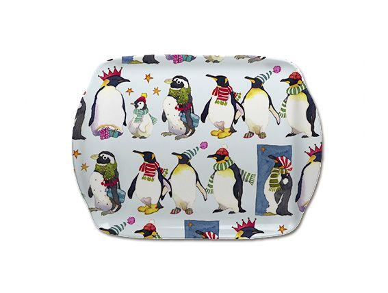 Winter Penguins Scatter Dish (M52)