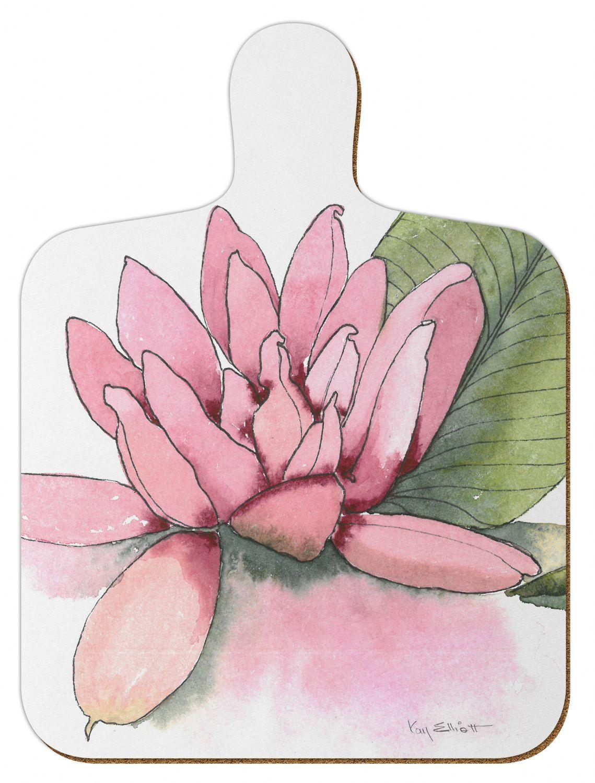 M1 Water Lilies Mini Chopping Board