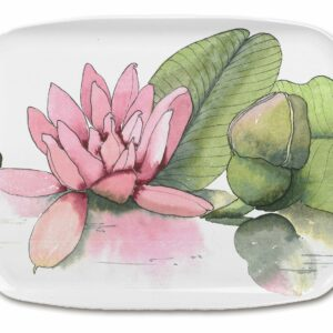 M50 Water Lilies Medium Tray