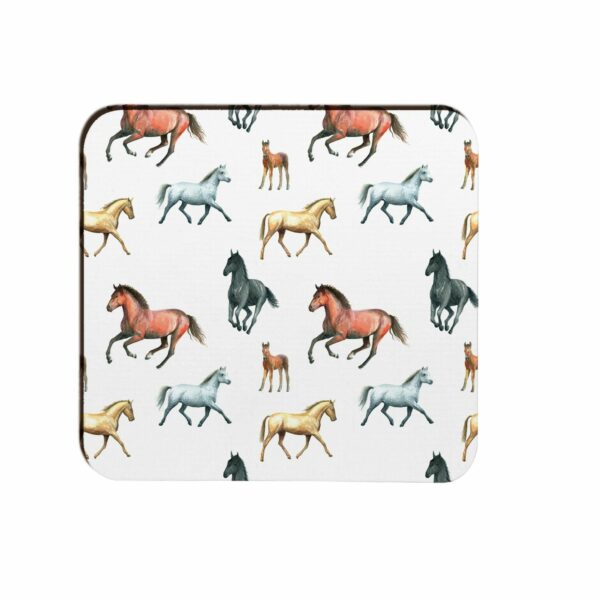 M55 Horses Moulded Coaster Box of 4