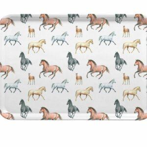 M7 Horses Large Tray