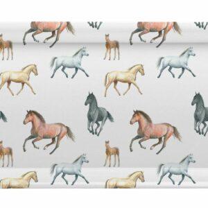 M51 Horses Sandwich Tray