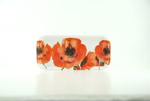 Red Poppies Tray (M19)
