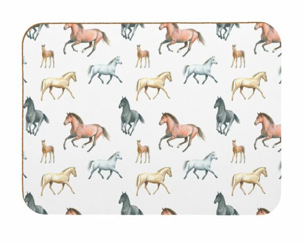 M46 Horse Laminated Placemat Pack of 4