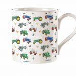 M33 Tractor Bone China Mug