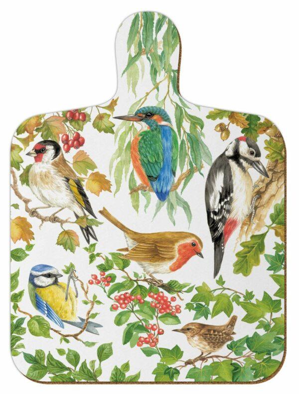M1 Birds of Britain Mini Chopping Board