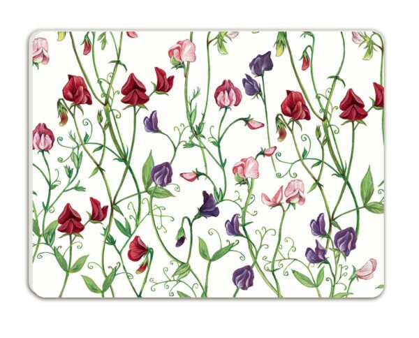 M56 Sweet Peas Moulded Placemats Pack of 4