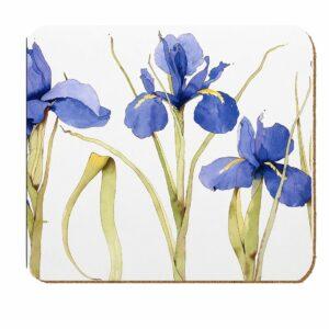 M47 Blue Iris Laminated Coaster Pack of 4