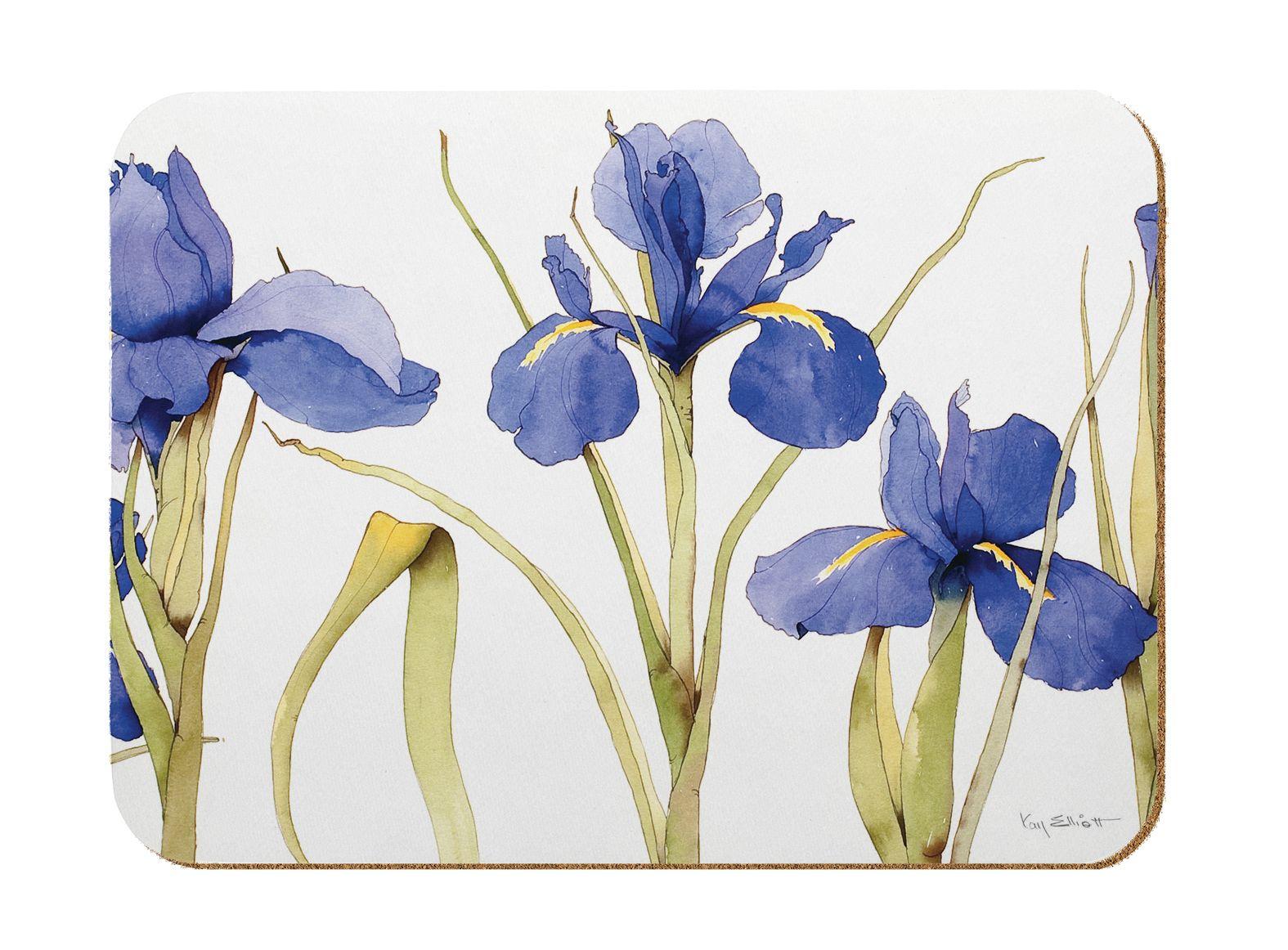 M53 Blue Iris Kitchen Board