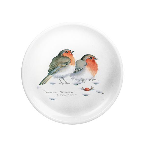Winter Robins Medium Coaster (M26)