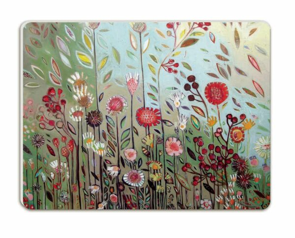 M56 Melamine Placemats Falling Leaves