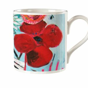 M33 Fine Bone China Mug Flowery Poppet