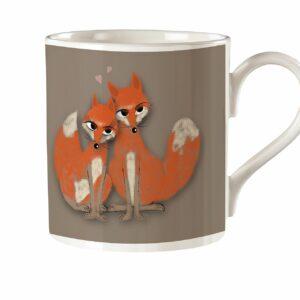 M33 Fine Bone China Mug Fox