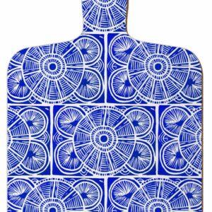 M1 Mini Choppin Board Blue Tile