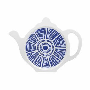 M27 BLUE TILE TEA BAG TIDY