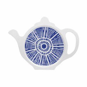 M27 BLUE TILE TEA BAG TIDY