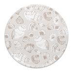Melamine - shell printed tray