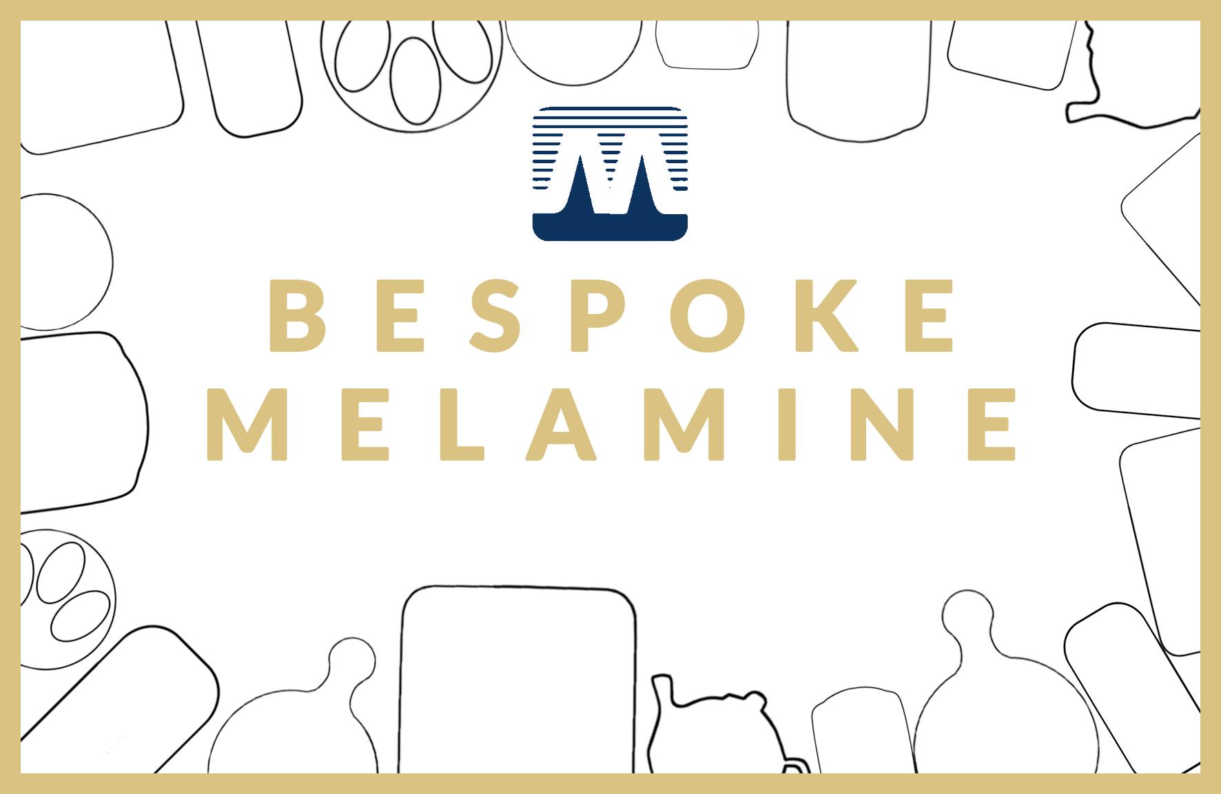 bespoke melamine homeware