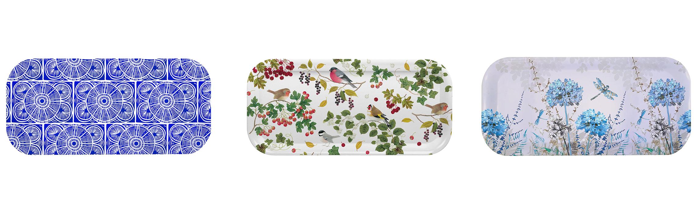 Melamaster custom printed melamine trays