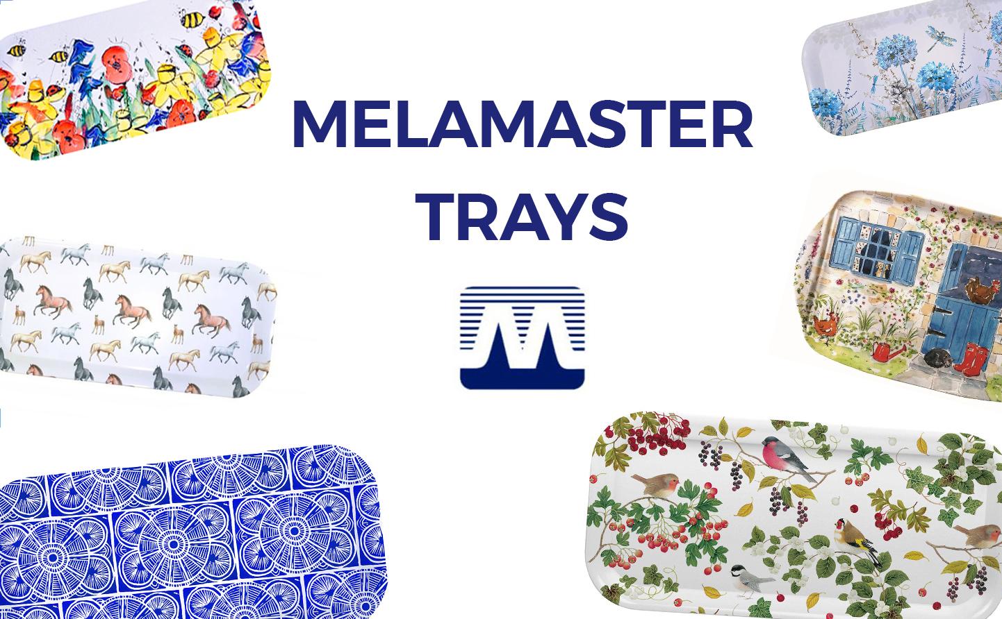 Melamaster trays