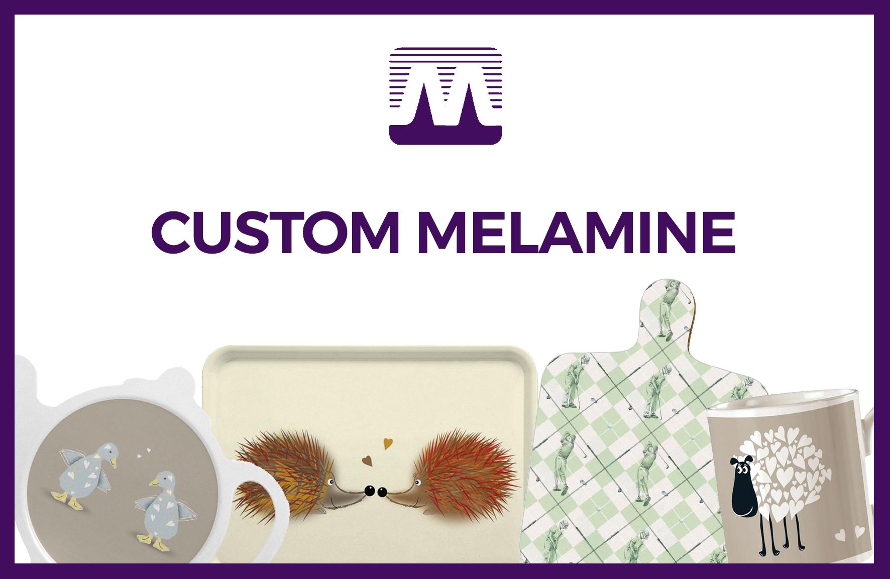 Custom Melamine Banner Image